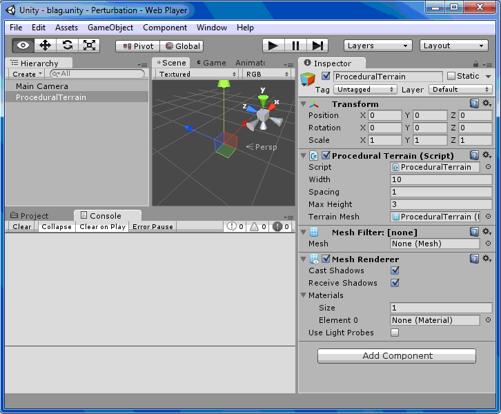 Programmatically Generating Meshes In Unity3D | Kobold's Keep