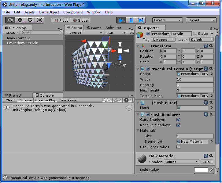 Programmatically Generating Meshes In Unity3D   Kobold's Keep